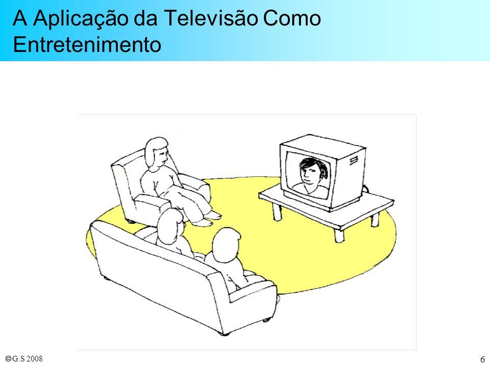 A Aplicação da Televisão Como Entretenimento