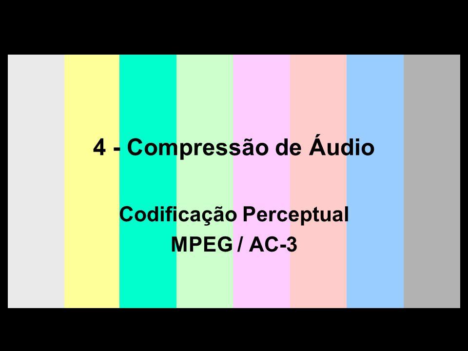 Codificação Perceptual MPEG / AC-3