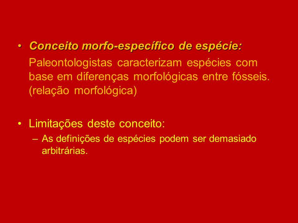 Conceito morfo-específico de espécie: