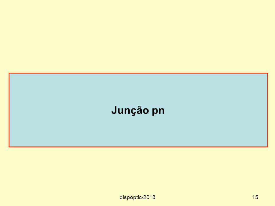 Junção pn dispoptic-2013