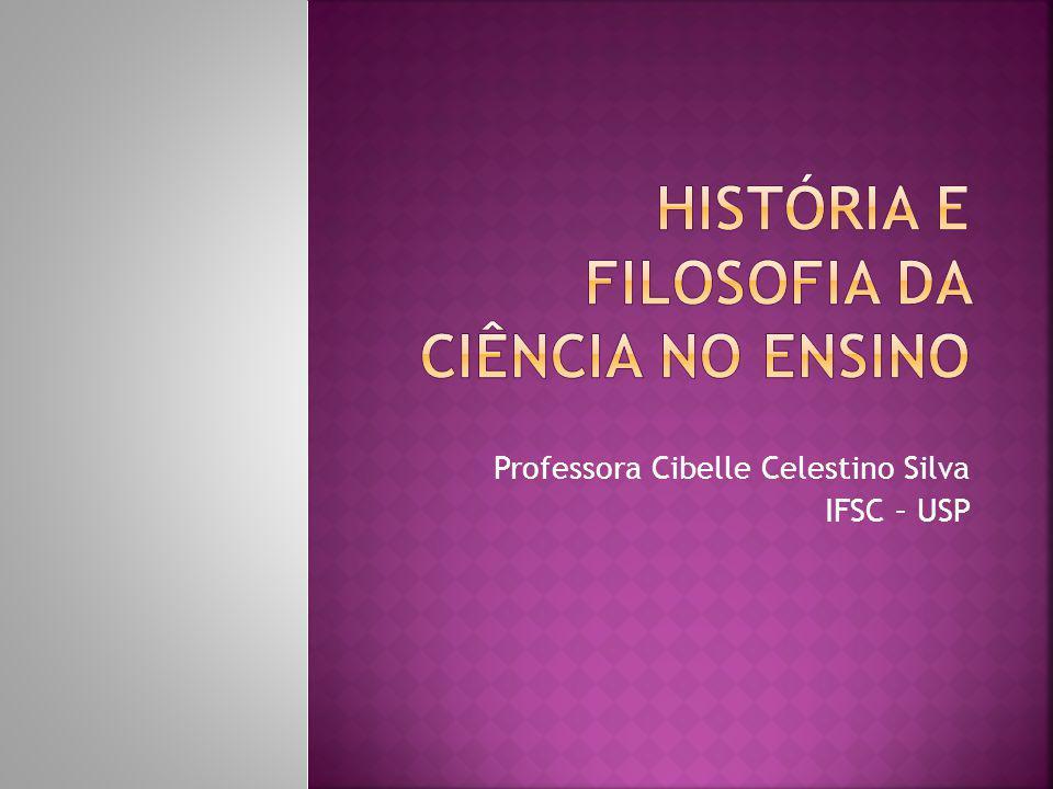 História e Filosofia da Ciência no Ensino