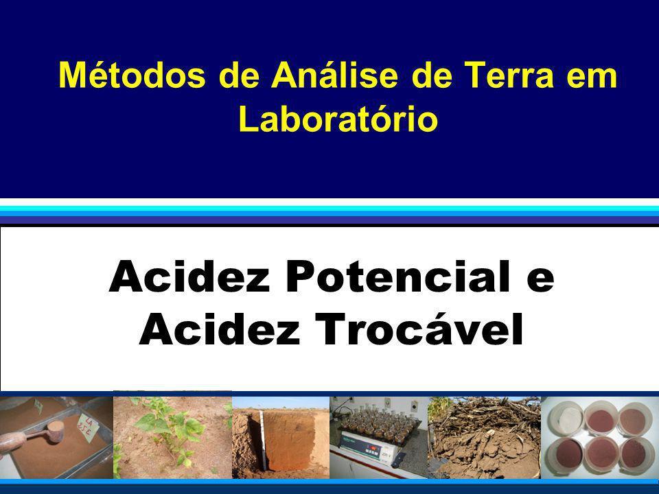 Métodos de Análise de Terra em Laboratório