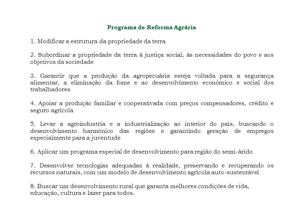 Programa de Reforma Agrária
