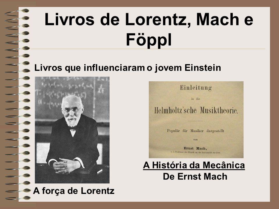 Livros de Lorentz, Mach e Föppl