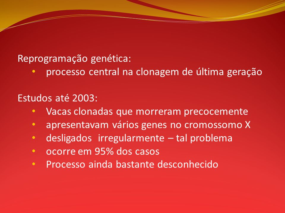 Reprogramação genética: