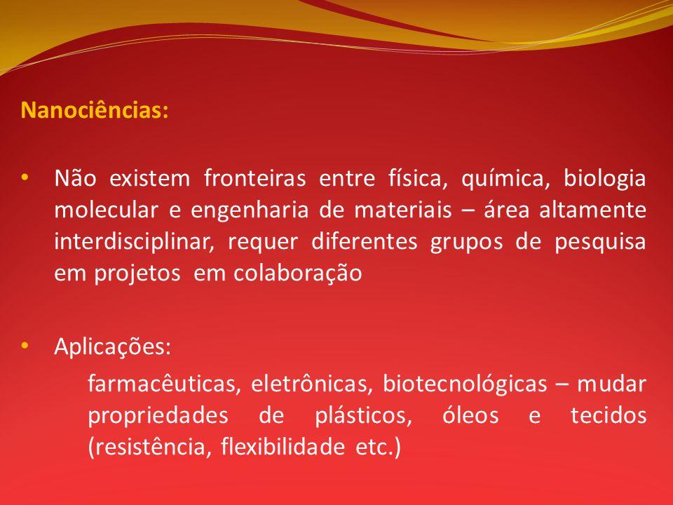 Nanociências: