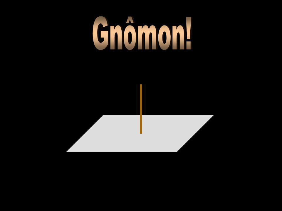 Gnômon!