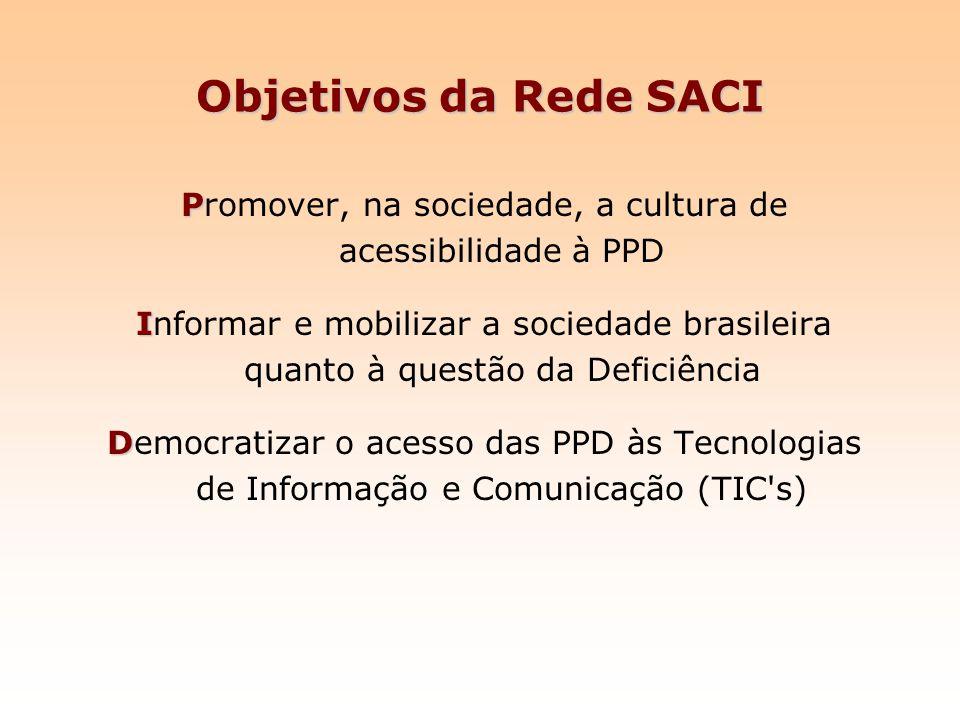Promover, na sociedade, a cultura de acessibilidade à PPD