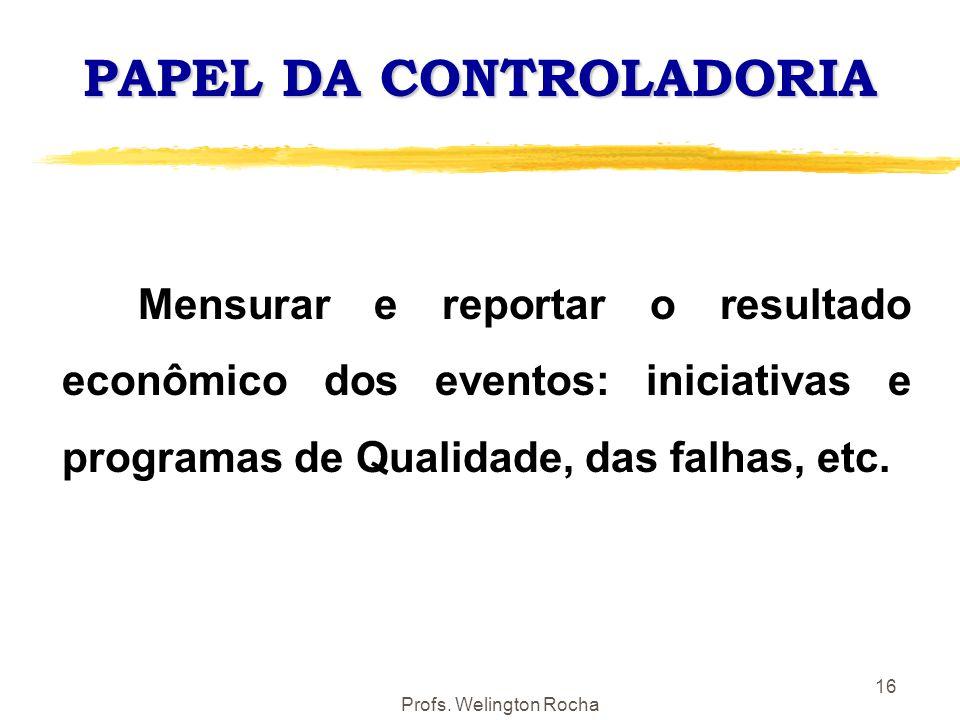 PAPEL DA CONTROLADORIA