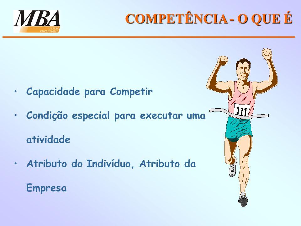 COMPETÊNCIA - O QUE É Capacidade para Competir