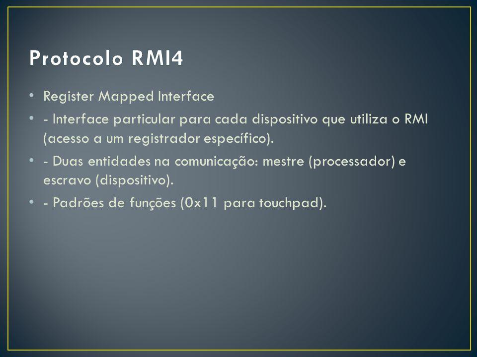 Protocolo RMI4 Register Mapped Interface