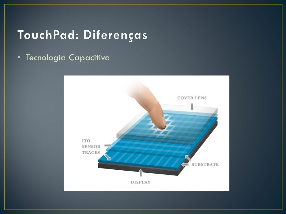 TouchPad: Diferenças Tecnologia Capacitiva
