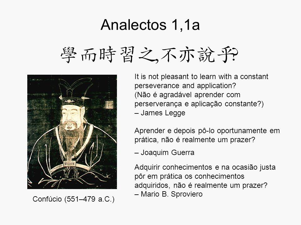 Analectos 1,1a