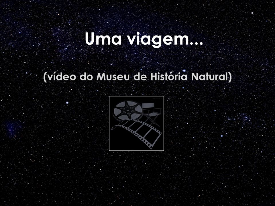 (vídeo do Museu de História Natural)