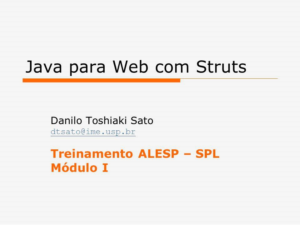 Java para Web com Struts