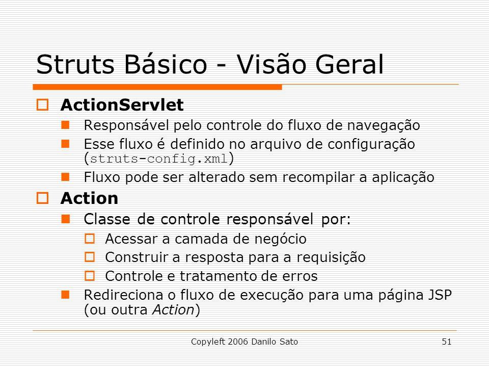 Struts Básico - Visão Geral