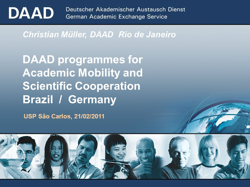 Academic Mobility and Scientific Cooperation Brazil / Germany