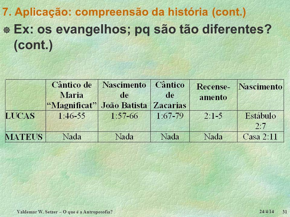 7. Aplicação: compreensão da história (cont.)