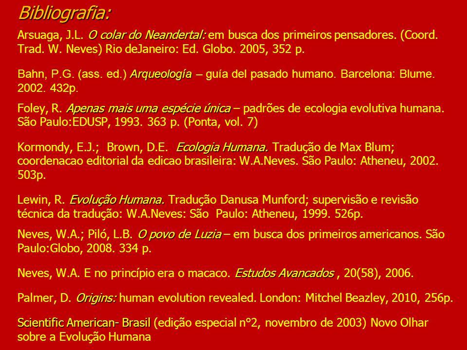 Bibliografia: Arsuaga, J. L