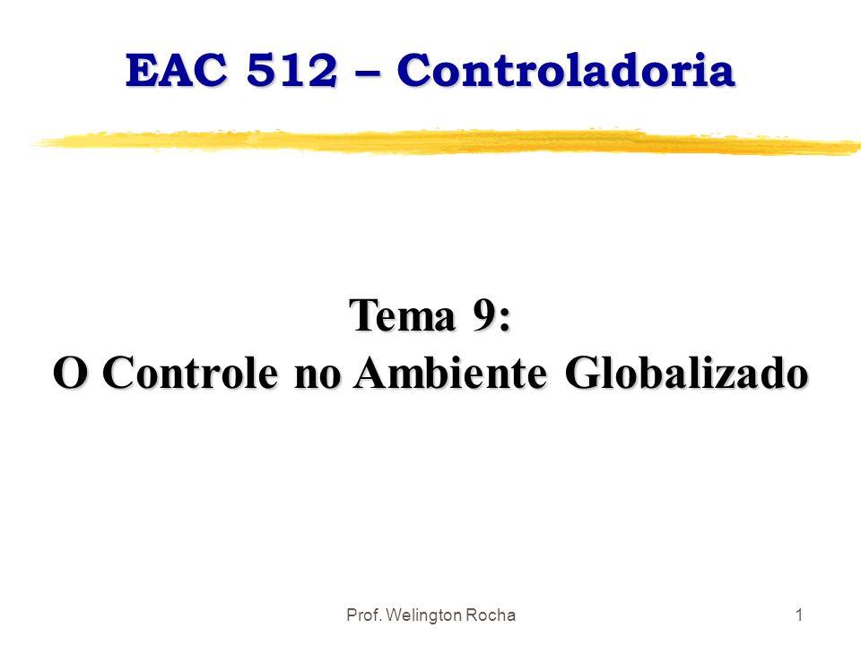 O Controle no Ambiente Globalizado