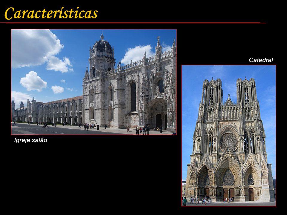 Características Catedral Igreja salão