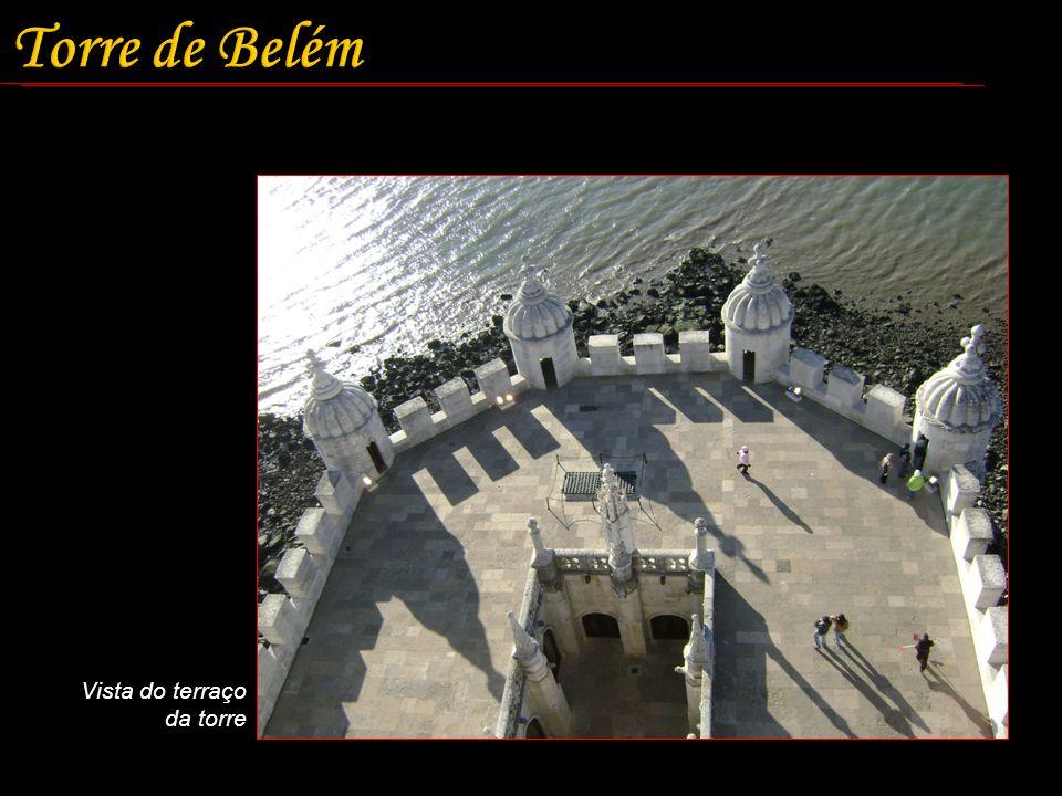 Torre de Belém Vista do terraço da torre