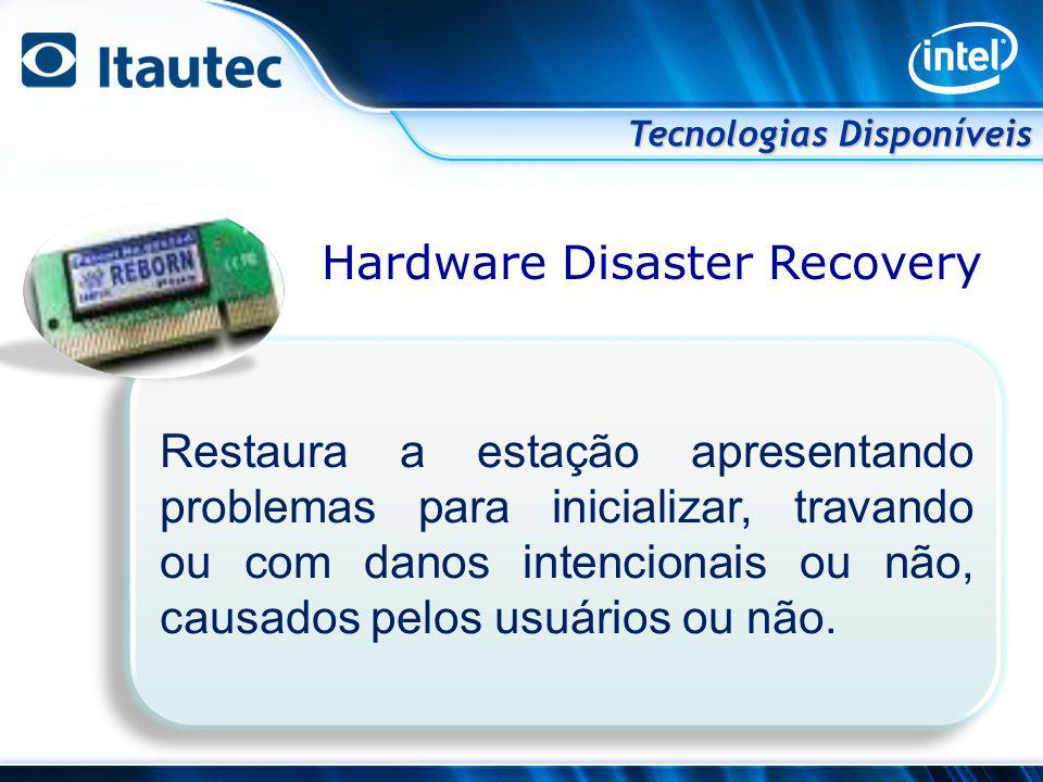 Hardware Disaster Recovery
