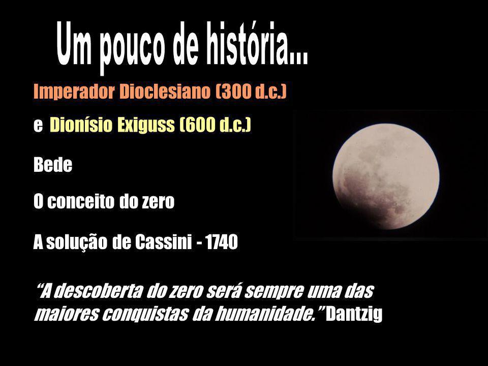 Um pouco de história... Imperador Dioclesiano (300 d.c.)
