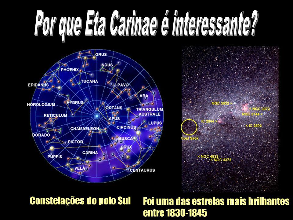 Por que Eta Carinae é interessante