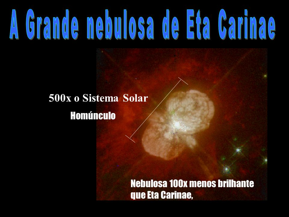 A Grande nebulosa de Eta Carinae