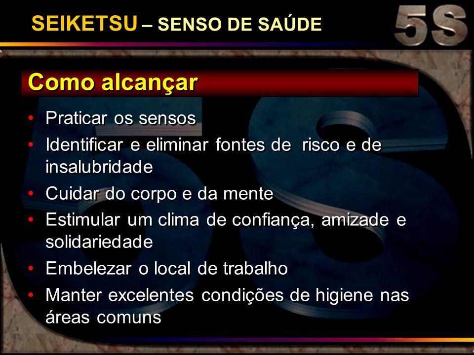 SEIKETSU – SENSO DE SAÚDE