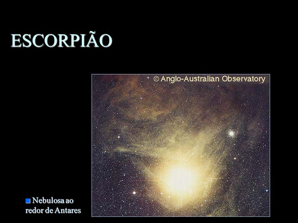 ESCORPIÃO Nebulosa ao redor de Antares