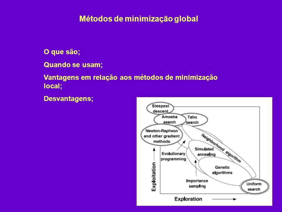 Métodos de minimização global