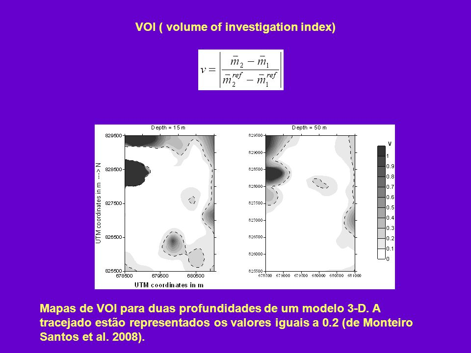 VOI ( volume of investigation index)