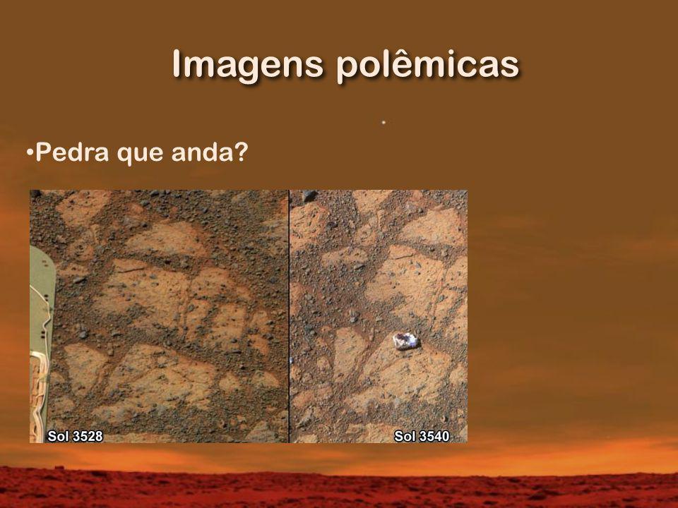 Imagens polêmicas Pedra que anda