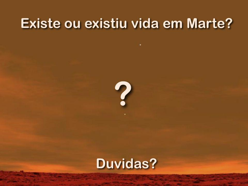 Existe ou existiu vida em Marte