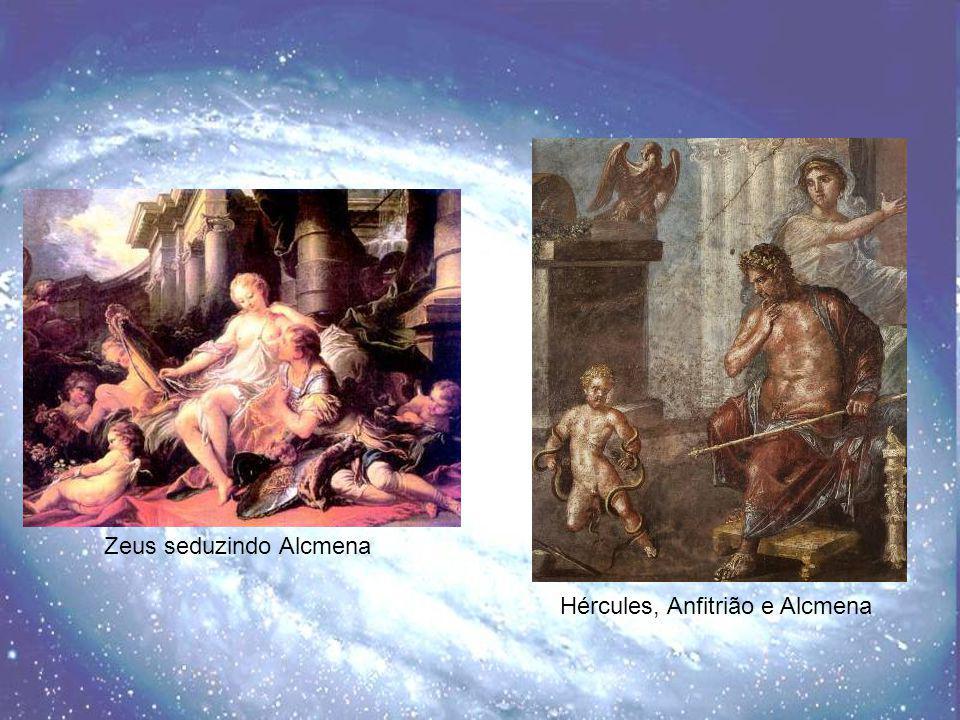 Zeus seduzindo Alcmena