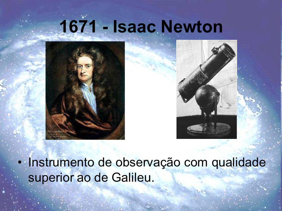 1671 - Isaac Newton