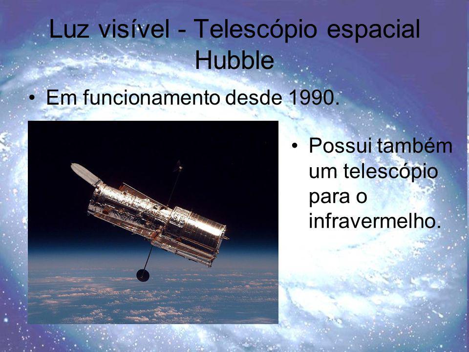 Luz visível - Telescópio espacial Hubble