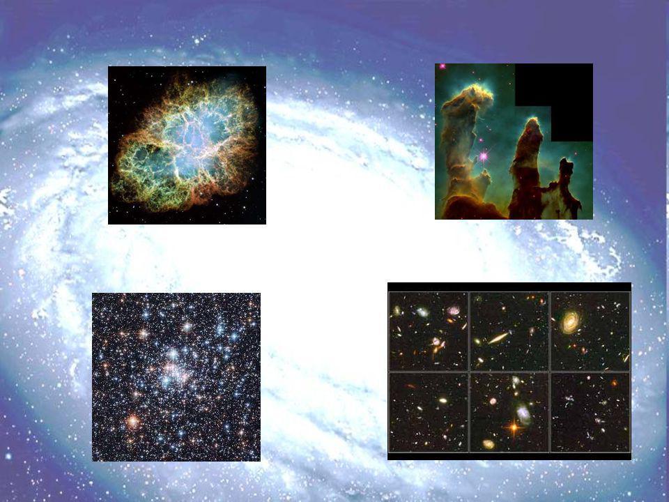 Algumas imagens do Telescópio espacial Hubble captadas no visível.