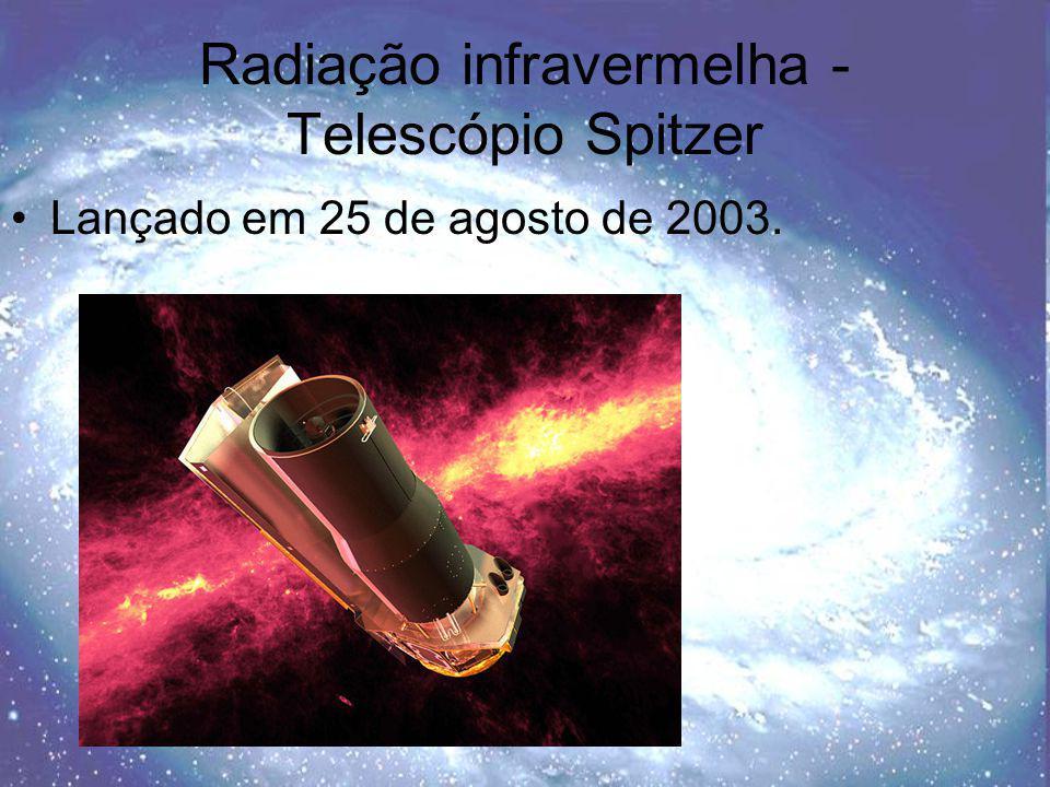 Radiação infravermelha - Telescópio Spitzer