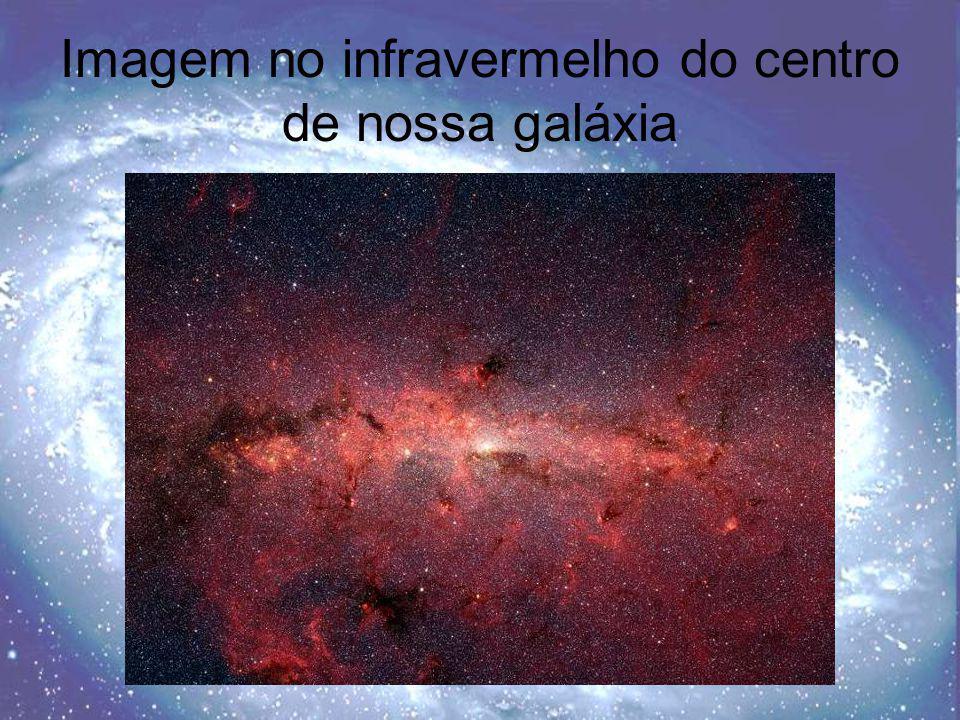 Imagem no infravermelho do centro de nossa galáxia