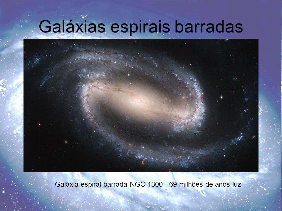 Galáxias espirais barradas
