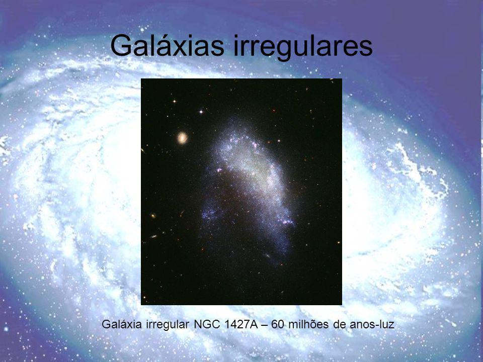 Galáxias irregulares