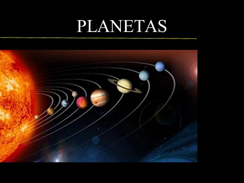 PLANETAS Mais próximos do Sol e situados na orbita Solar interna estão os planetas Telúricos (rochosos)