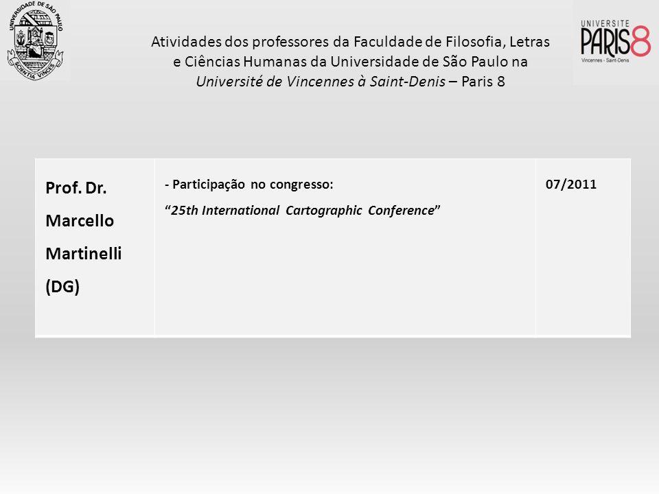 Prof. Dr. Marcello Martinelli (DG)