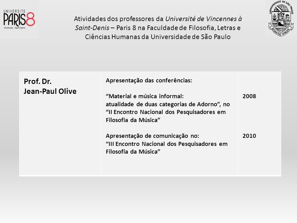 Prof. Dr. Jean-Paul Olive