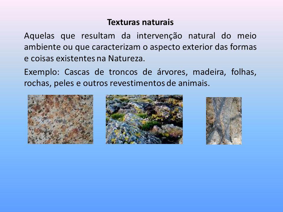 Texturas naturais