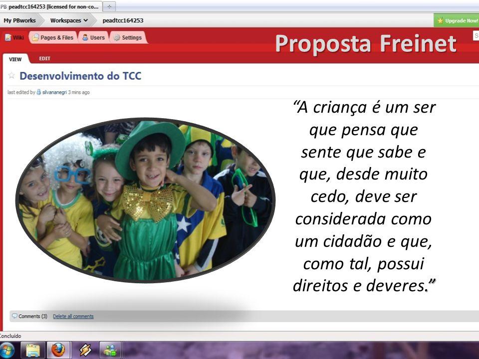Proposta Freinet