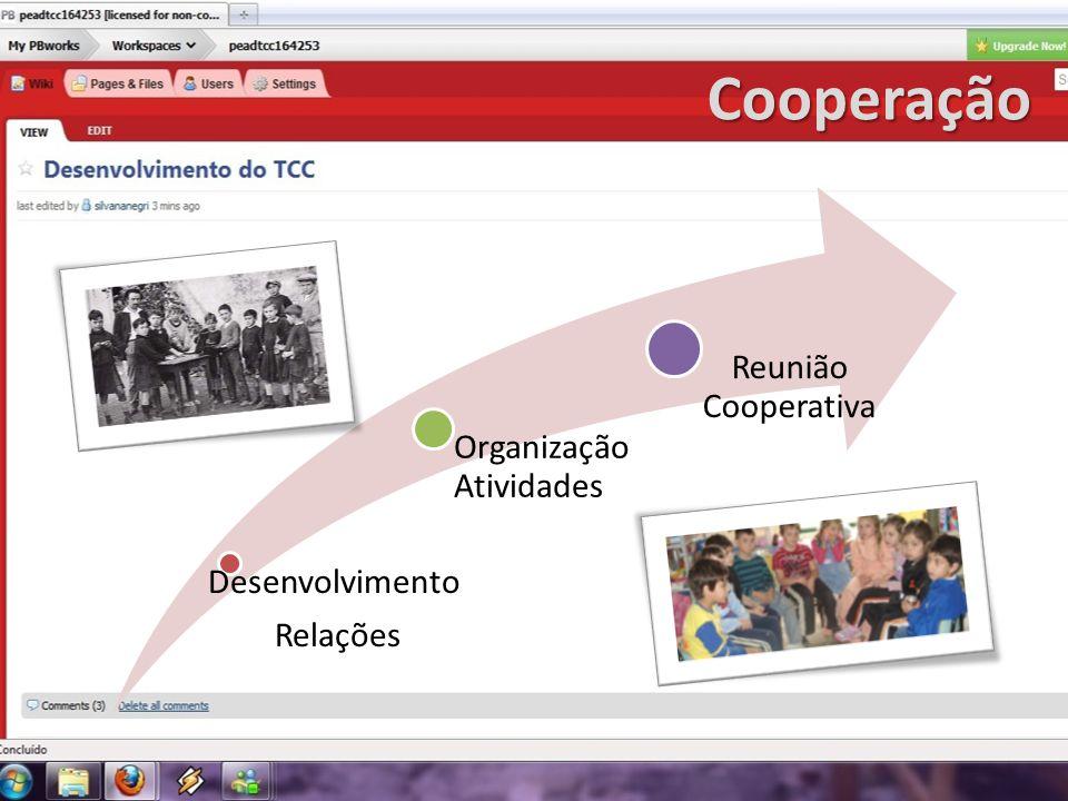 Cooperação Reunião Cooperativa Organização Atividades Desenvolvimento